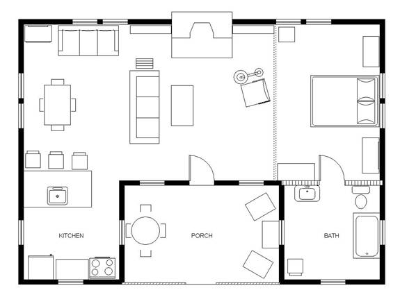 cabin layout images